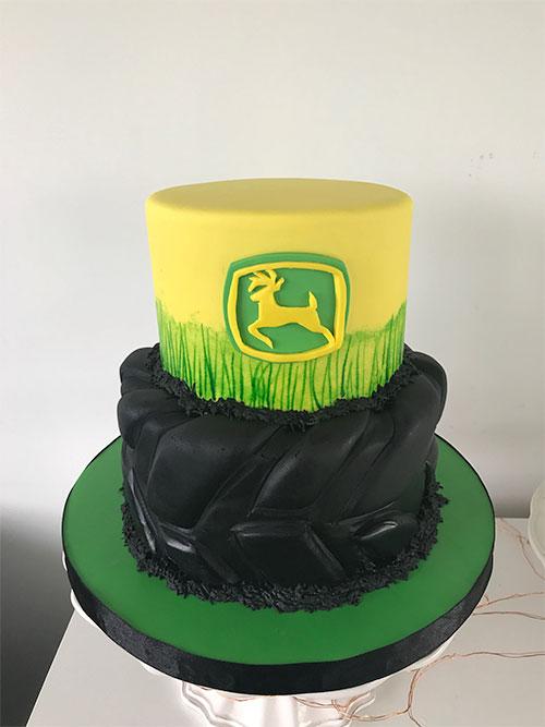 corporate work cake